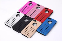 protective metal Silicone 2 in1 back cover case for apple iphone 5 5s
