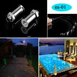 waterproof led rgb sauna fiber optic light underwater swimming pool lights