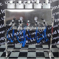 hot sale blue silver gold chrome spray plating paint machine NO:LYH-CPSM102