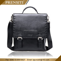 New arrival hot selling Mens genuine leather portfolio bag genuine leather briefcase laptop lawyer leather Handbags