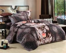 new design fashion 100% cotton 3d quilt cover