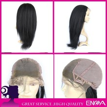 100% malaysia human hair glueless full lace 100% human hair wig adjustable wig cap