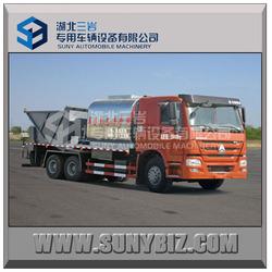 bitumen sprayer tank truck with road synchronous chip sealer Asphalt pitch bestrid