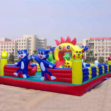 Inflatable Jumper Inflatable Castle PVC Inflatable Playground For Park and Mall