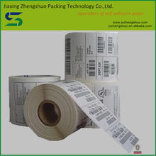 semi-glossy self adhesive label paper with water based glue