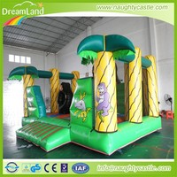 Inflatable Jungle Climb and Slide Bouncy House, inflatable jumping toys, pvc bouncy house,trampoline