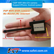 home security surveillance wireless spy camera,Mini 720p Digital Spy Wifi Camera for Iphone Android smart Mobile phone