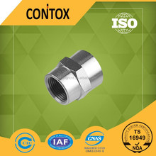 B410 BSP and NPT type thread transition brass pipe fitting