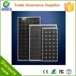 High quality and cheap price 150W Monocrystalline price per watt solar panels 150w