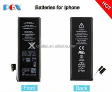 Best quality hot batteries for iphone 5/6 battery case for iphone6 good battery