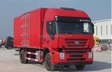 Cargo truck Van with Iveco Genlyong 8X4 Chassis