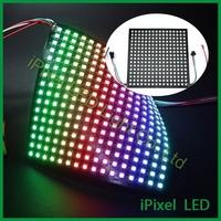 Square 16*16 led digital pixel led matrix--ws2812b
