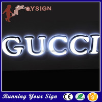 Multi-types waterproofalphabet LED shop front signs