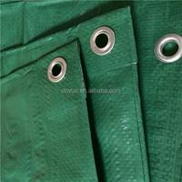 Waterproof cotton tent tarpaulin with UV green 2x3