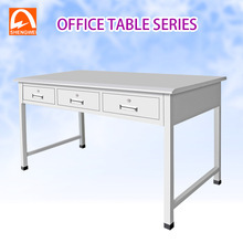 stainless steel office desk file cabinet work table