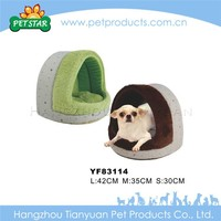 Portable soft fabric dog houses large