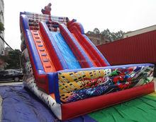 best selling 2014 inflatable spiderman toys inflatable spiderman slide
