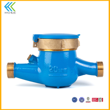 LXSG(R)-15E-50E medidor de agua ningbo china clase c japan actaris with key valves seals multijet water meter