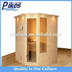 Home steam sauna room/wood steam sauna room/sauna steam room combination