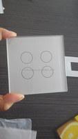 switch transparent glass,light switch glass,electric switch glass panels BLP-SWG003