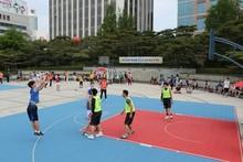 ZSFloor pp interlock basketball flooring for sport court