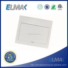 ABS/PC 12way flush mounted electrical distribution box/optional MCB distribution box