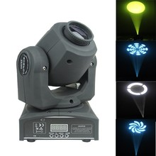 factory price mini 12w dmx high brightness color changing moving head