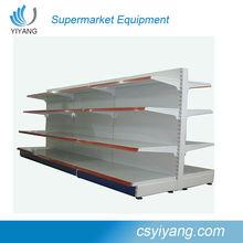 double side perfortated supermarket shelf ,new design gondola wholesale shop equipment