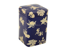 square tin box for tea or coffee decorative cans specialized printing and size