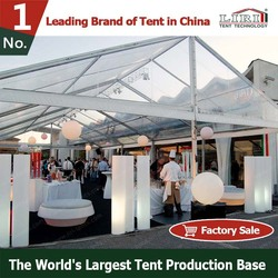 Outdoor Luxury Clear Roof Wedding Tent in India