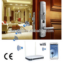 Zigbee home automation Wireless network door lock, camera door lock