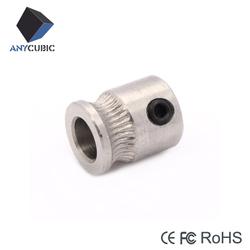 China manufacturer 3D printer MK8 drive gear for sale
