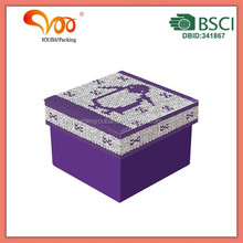 Professional Factory Supply!! Custom Handcraft paper box with brand logo