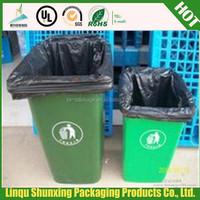 garbage industry plastic drawstring / High quality plastic drawstring garbage bag / colorful garbage bag tie