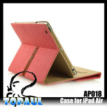 classic series flower pattern jean leather case for ipad air 2