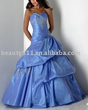 vestido de noche p4347