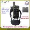 400meter rechargeable multi-dog system electronic collars for dogs with Vibrate