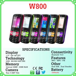 direct buy china 1.77'' screen dual sim quad band big battery SC6531 mini bluetooth mobile W800