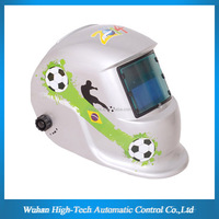 CE ANSI AS Approval OEM 5000 Welding Hours Solar Auto Darkening Decorative Welding&Grinding Helmet With Decals