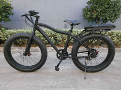 "Fat electric bike for 26"" 48V-500W"