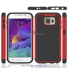 Hot sell new design metal back cover for samsung galaxy s6 with football texture