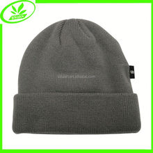 Foldable man knitting cap wholesale hat in stock