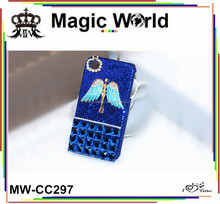Angel diamond cell phone cover