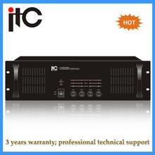 PA System audio digital professional power amplifier