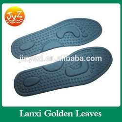 Insole factory breathable shock anti-skidding Foot massage insoles car dot