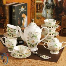 15 set porcelain tea set (45% bone china porcelain tea set)