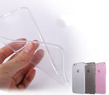 0.3mm Ultra Thin Soft TPU Gel Original Transparent Case For iPhone 4 4S 5 5S Crystal Clear Cover Phone Bags For Apple