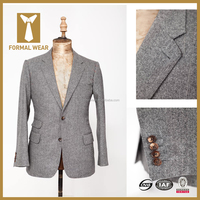New Style Super 140s 100% Wool Notch Lapel Two Buttons Men Custom Tailor suits