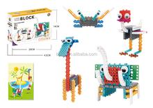 BNR900234 47pcs animal 4 IN 1 plastic educational toys for kids