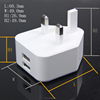 UK Plug Dual USB Wall Charger Adapter for Iphone 6
